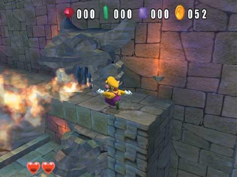 Wario World GCN GameCube Screenshots