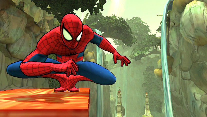 Spider Man Shattered Dimensions Wii Screenshots