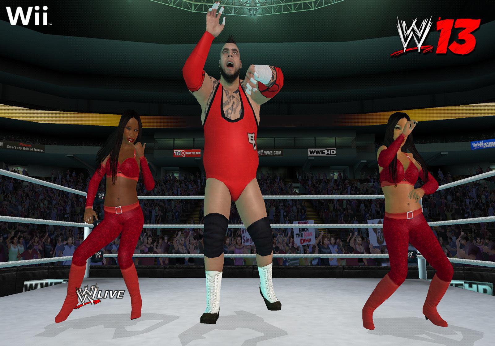 WWE 13 Wii News Reviews Trailer Amp Screenshots