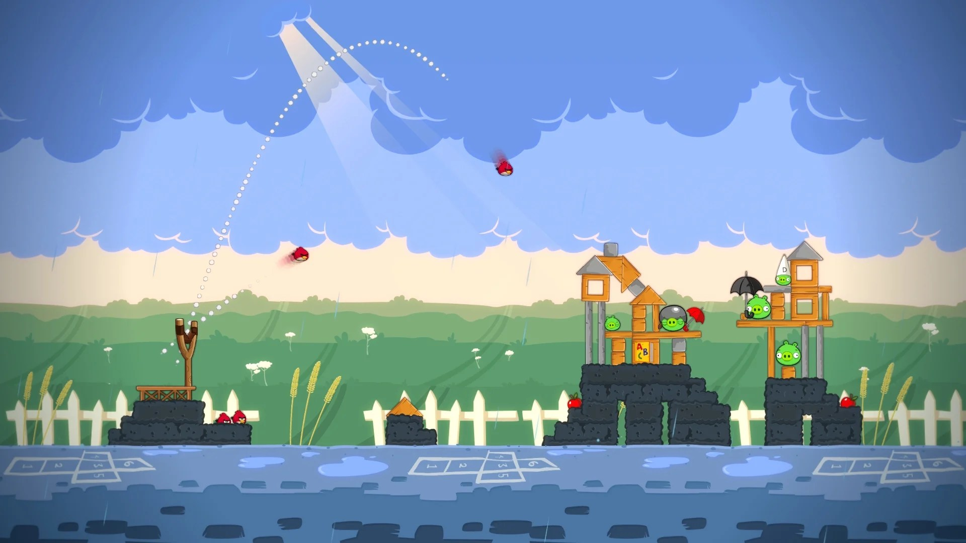 Angry Birds Trilogy Wii U Screenshots
