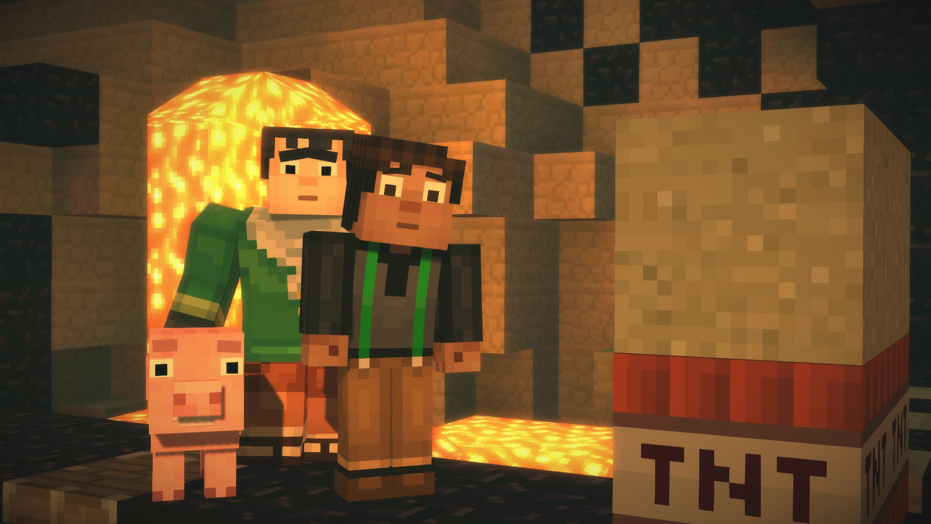 Minecraft Story Mode Episodes 2 5 Wii U EShop News Reviews Trailer Amp Screenshots
