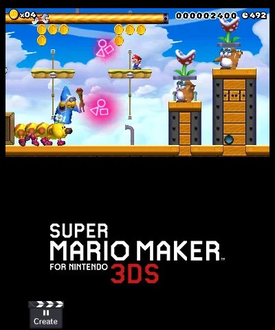 Super Mario Maker For Nintendo 3DS 3DS Screenshots