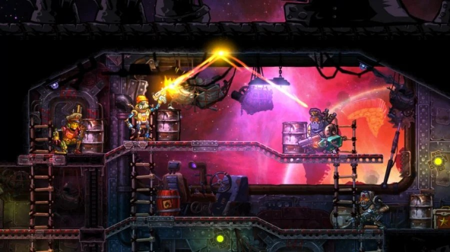 Image result for steamworld heist switch