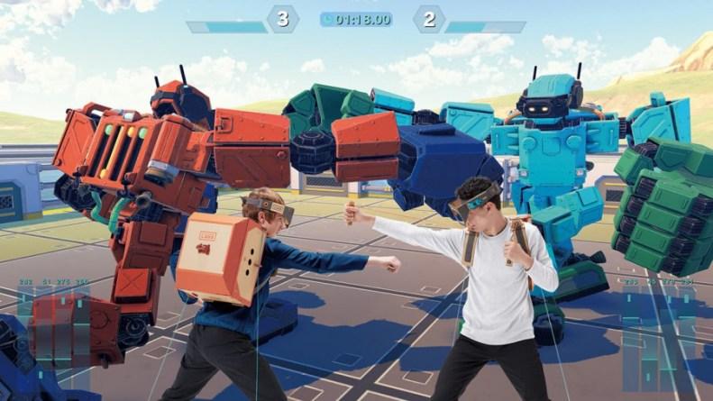 Nintendo Labo: Toy-Con 02 - Robot Kit Review - Screenshot 5 of 5