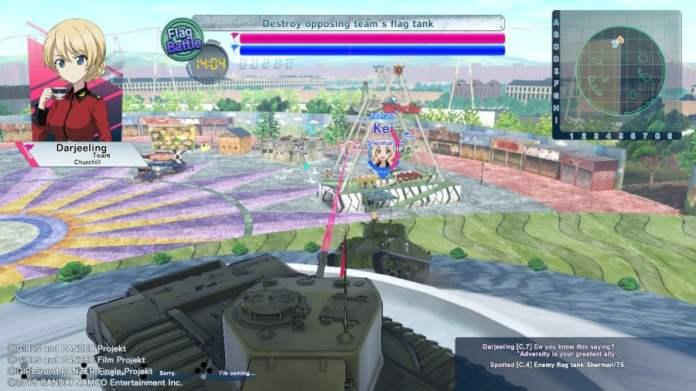 Girls Und Panzer: Dream Tank Match DX Review - Screenshot 6 of 7