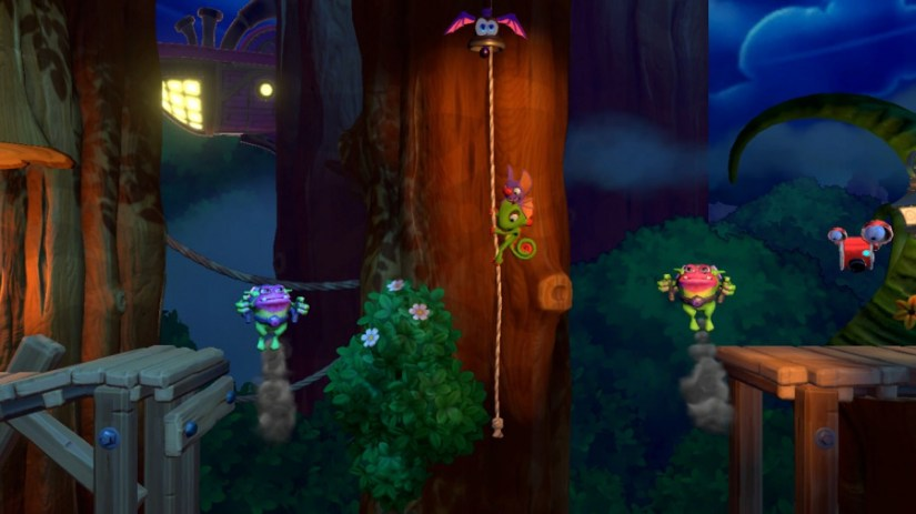 Yooka-Laylee y la revisión de la guarida imposible: captura de pantalla 5 de 6