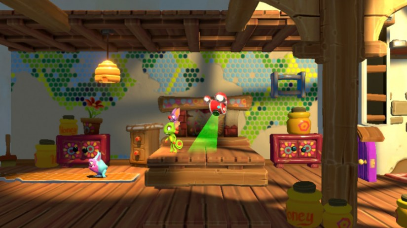 Yooka-Laylee y la revisión de la guarida imposible: captura de pantalla 4 de 6