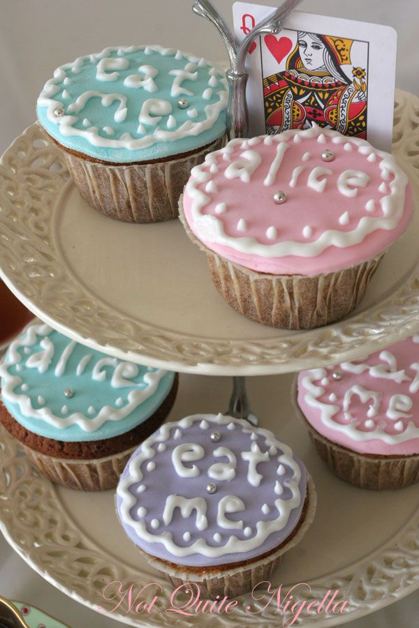 Alice In Wonderland Mad Hatters Tea Party Cupcakes Not