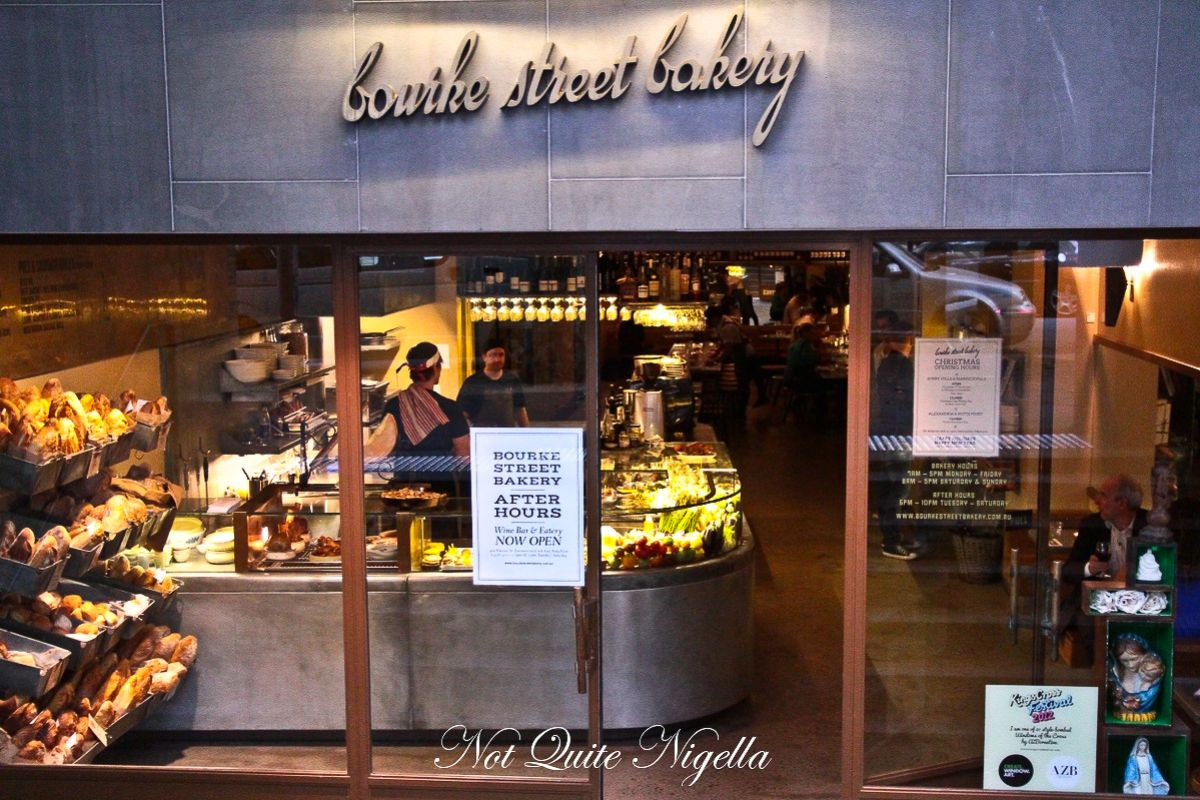 Bourke Street Bakery At Night Potts Point Not Quite Nigella