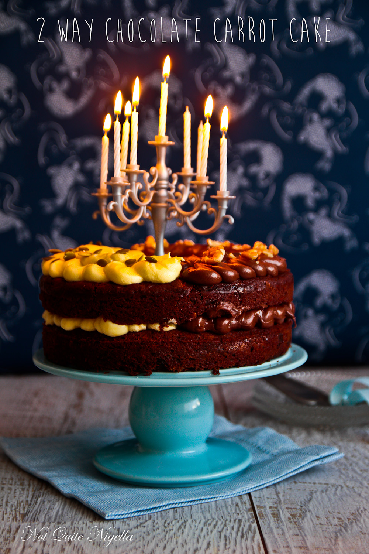 Easter Chocolate Carrot Cake Not Quite Nigella