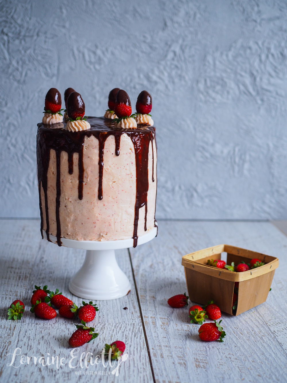 Strawberry Chocolate Mousse Cake Recipe