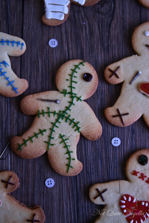 Voodoo Doll Cookies Not Quite Nigella