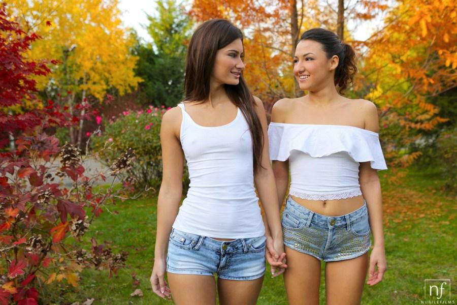 NubileFilms.com - Alexi Star,Suzy Rainbow: Sensual Lesbian Sex - S26:E10