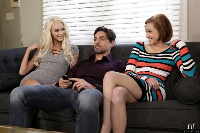 NubileFilms.com - Cadey Mercury,Emma Hix,Ryan Driller: Sex Flix - S26:E17