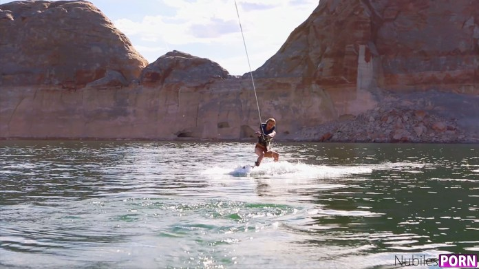 NubilesUnscripted.com - Haley Reed,Kenzie Reeves,Piper Perri: Spring Break Lake Powell 4 - S1:E4