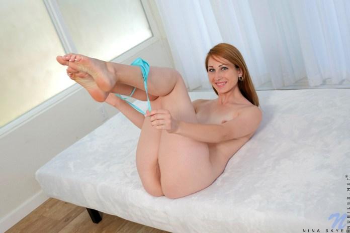 Nubiles.net - Nina Skye: Redhead Shows Off