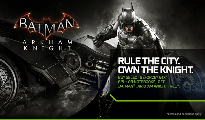 GeForce GTX Batman Arkham Knight Bundle GeForce