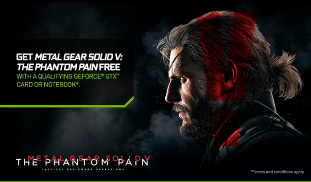 NVIDIA Launches Summer GeForce Game Bundle, featuring the Metal Gear Solid V: The Phantom Pain 1