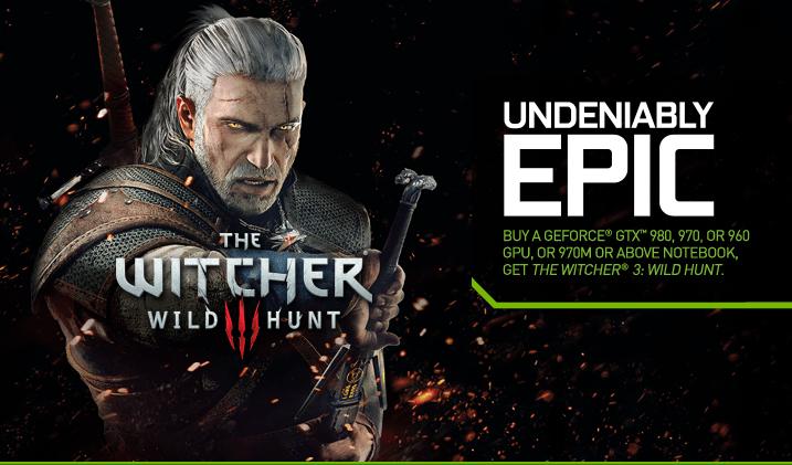 Redeem Your Free The Witcher 3: Wild Hunt Game | GeForce