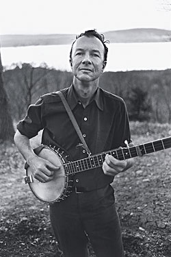 Image result for pete seeger images