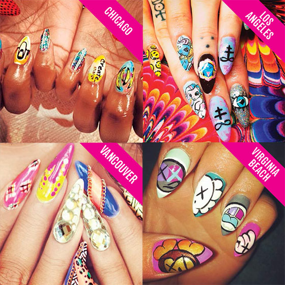A New Series Brings Global Nail Artists To York