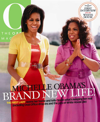Michelle Obama Wears Michael Kors on the Cover of O