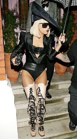 Lady Gaga On Trend Today, No Less Ridiculous