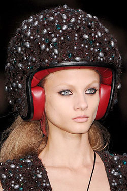 Karl Lagerfeld's 'It' Helmets Are Finally for Sale in Stores