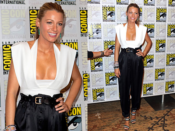 Blake Lively Accused of Showing Too Much Cleavage at Comic-Con