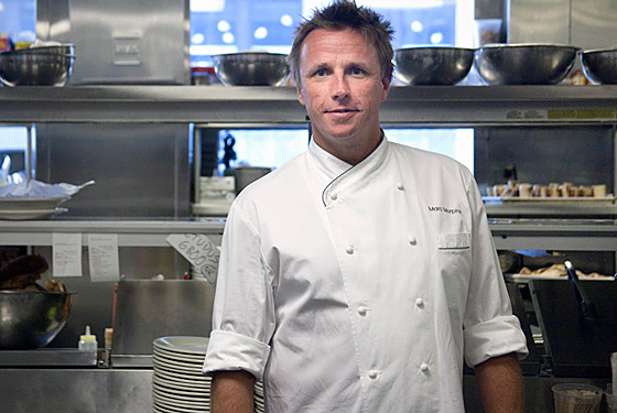 Chef Marc Murphy Enjoys The Days Of Summer And Keeps His
