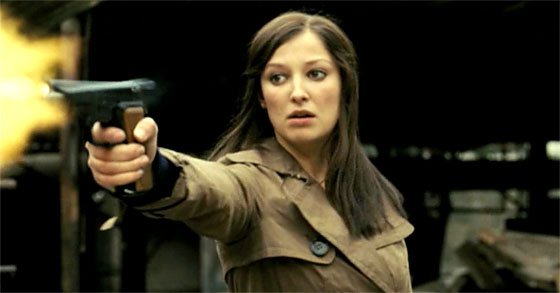 Alexandra Maria Lara as Petra Schelm in the movie