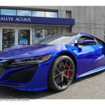 2017 Acura Nsx In Nouvelle Blue Pearl 000666 Nysportscars Com Cars For Sale In New York