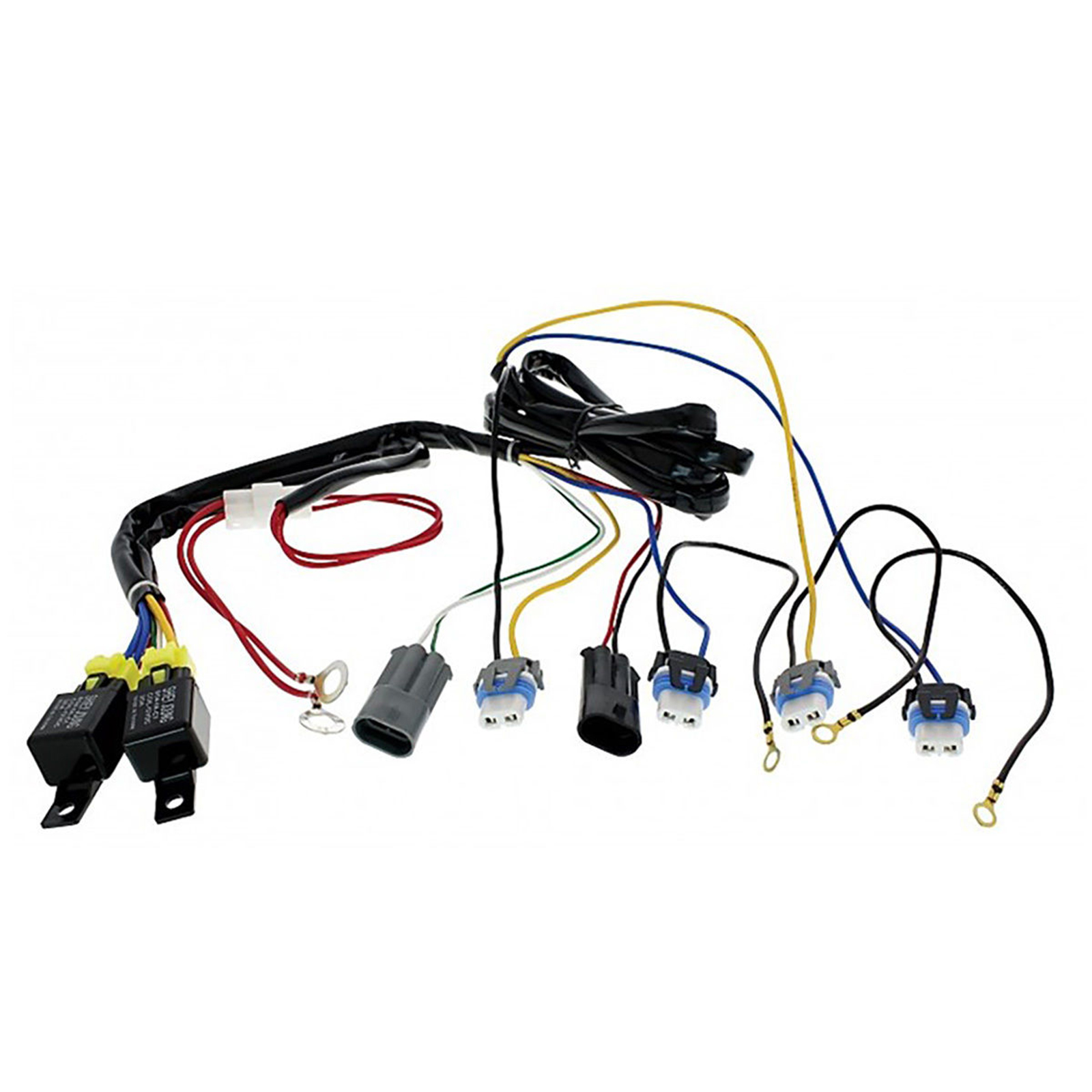 H4 Headlight Headlamp Relay Harness Wiring 12v