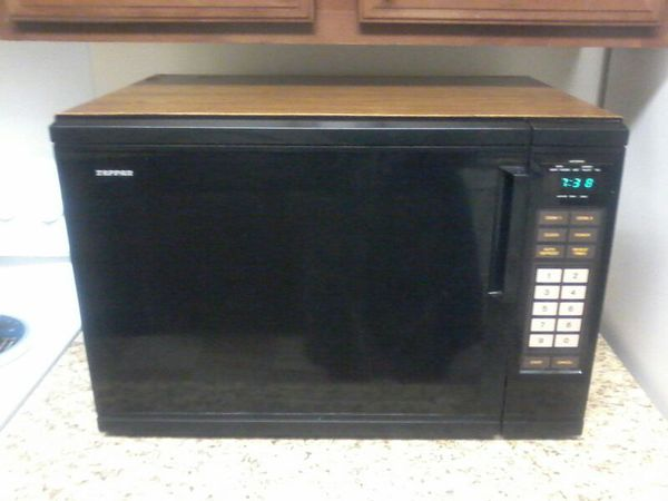 large tappan 1500 watt microwave for
