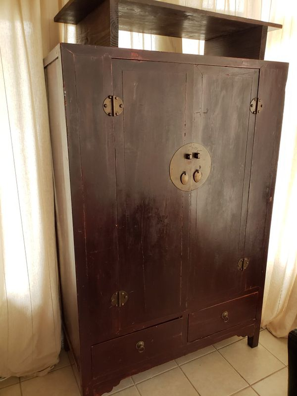 antique chinese armoire for sale in