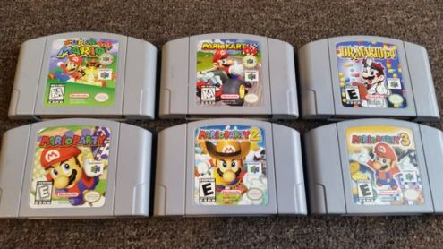 Super Mario games   N64  for Sale in San Francisco  CA   OfferUp