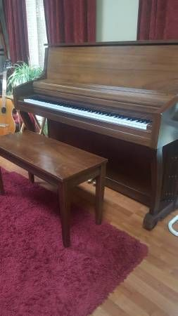 1998 Kimball 43 Quot Artist Upright Piano For Sale 450 For