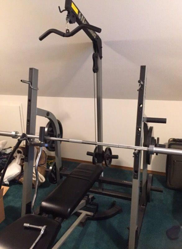 Nautilus Squat Rack And Weight Bench For Sale In Seattle