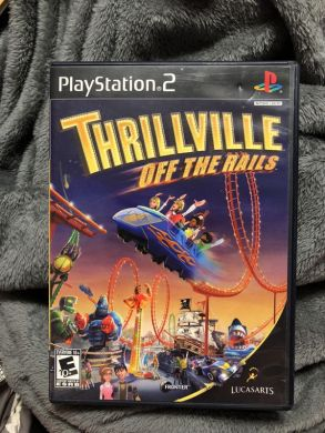 PlayStation 2 Thrillville  Off the Rails Game PS2 for Sale in     PlayStation 2 Thrillville  Off the Rails Game PS2 for Sale in Plainfield   IL   OfferUp