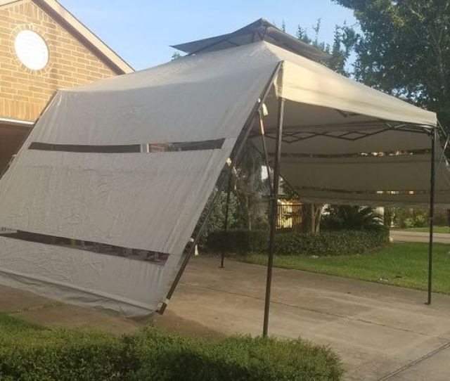 Quik Shade Summit S Instant Canopy With Double Full Wall Awnings For Sale In Houston Tx Offerup