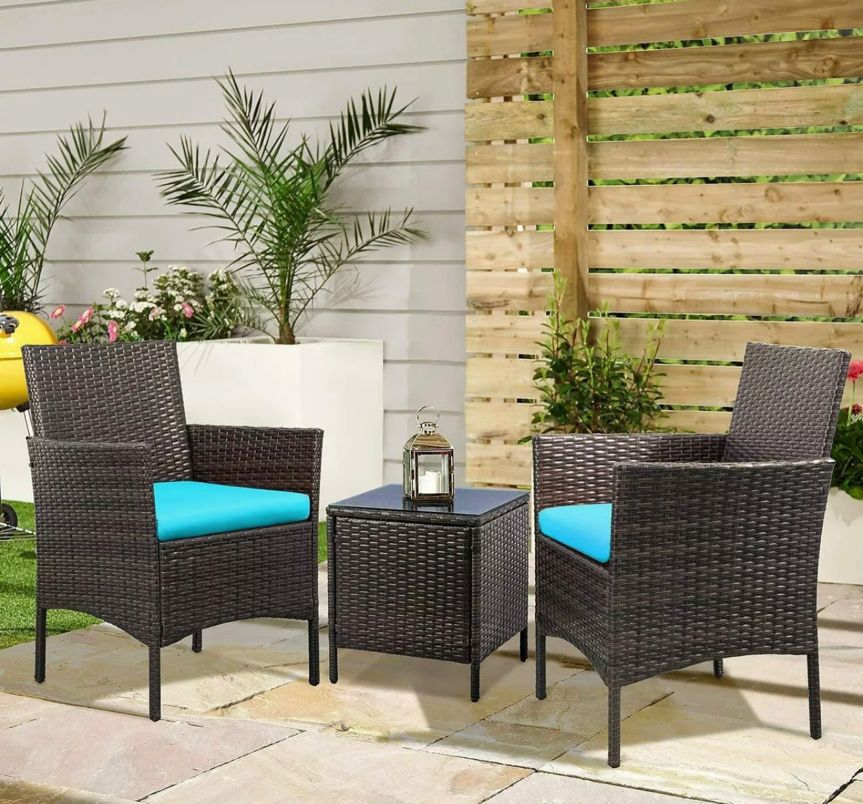 brand new 3 piece patio furniture