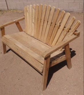 1 solid wood patio chair  In good condition heavy duty  for Sale in     1 solid wood patio chair  In good condition heavy duty  for Sale in Mesa   AZ   OfferUp