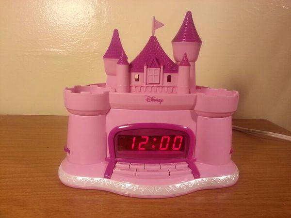 Cinderella Castle Radio Alarm Clock And