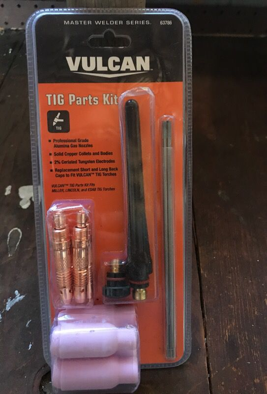 Tig Parts Kit For Vulcan Welder
