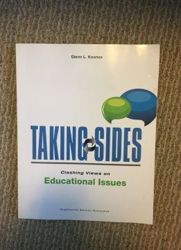 Taking Sides Clashing Views on Educational Issues for Sale in     Open in the AppContinue to the mobile website