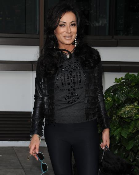 Nancy Dell'Olio is famous for her relationship with England manager Sven Goran Eriksson [Wenn]