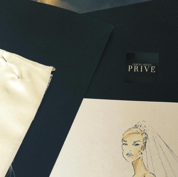 Iggy teased her wedding dress on Instagram [Iggy Azalea/Instagram]