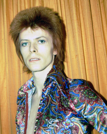David Bowie poses as Ziggy Stardust in New York [Getty]