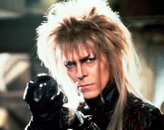 David Bowie in the 1986 film Labyrinth [Wenn]