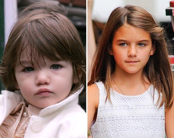 Tom Cruz's daughter Suri looks just like her mum Katie Holmes [Getty/Flynet]